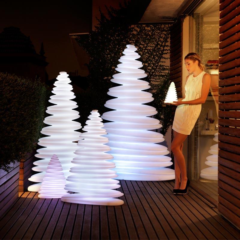 christmas tree design outdoor decor chrismy teresa sapey light vondom