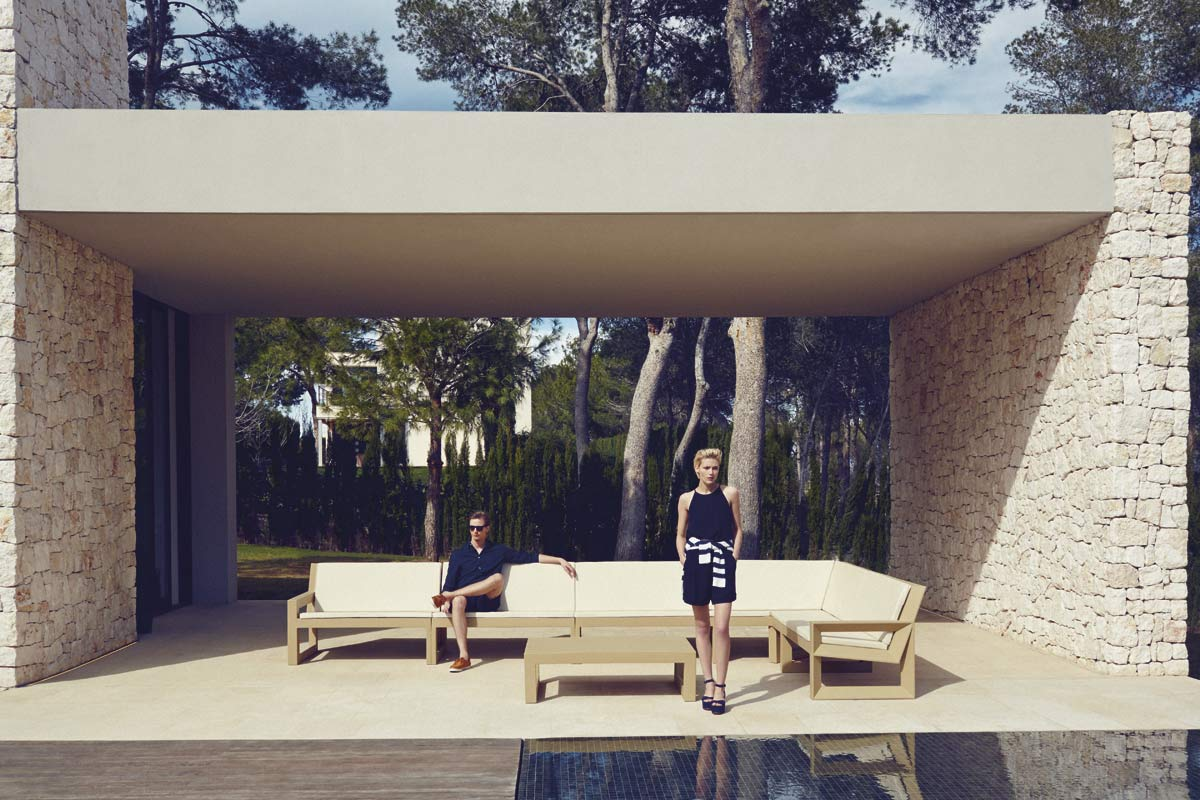 mobili per giardino divani mesas frame ramonesteve vondom