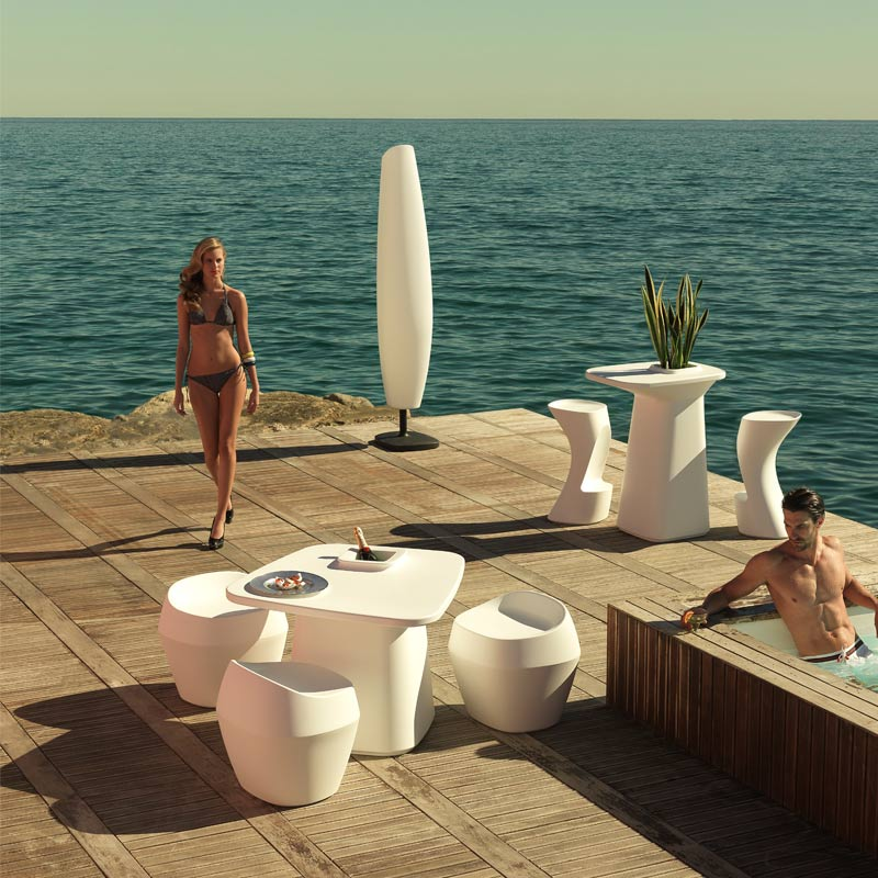 exclusive outdoor furniture stool chair bar table moma javiermariscal vondom