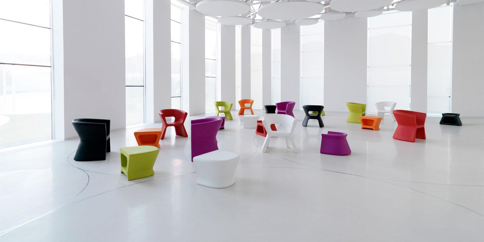 outdoor furniture chair table pal karimrashid vondom