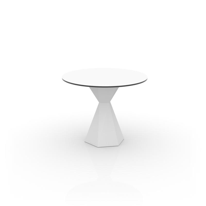 VERTEX TABLE Ø90 HPL