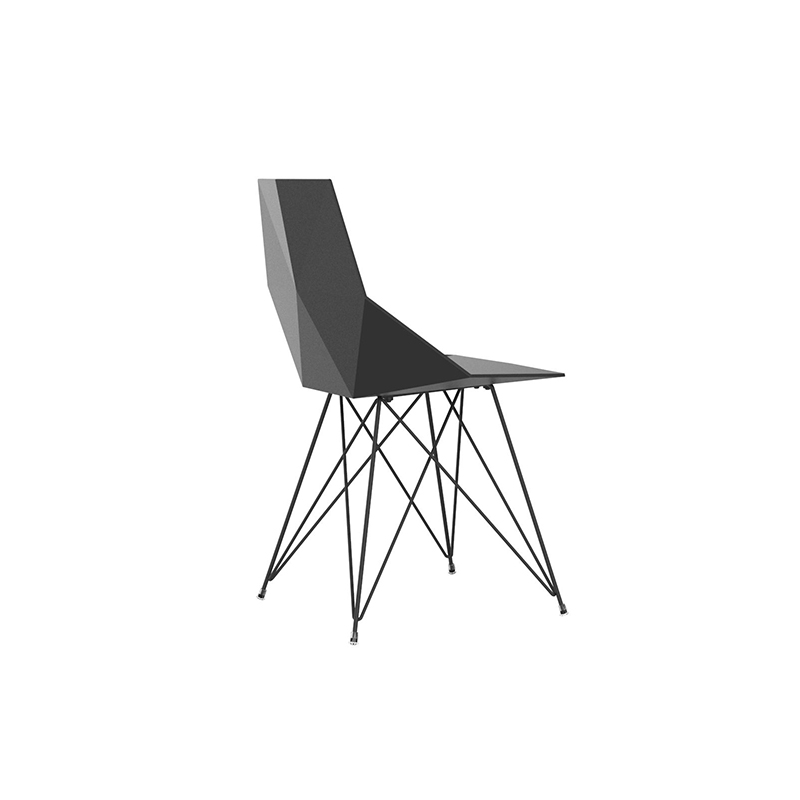 FAZ CHAIR steel base
