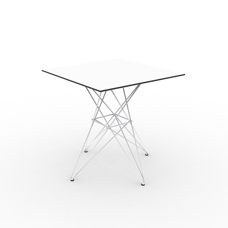 FAZ TABLE STAINLESS BASE 70x70x72