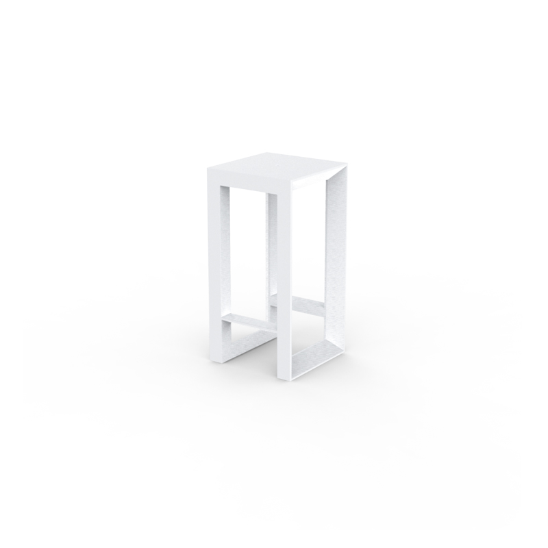 FRAME BAR TABLE 50x50x100