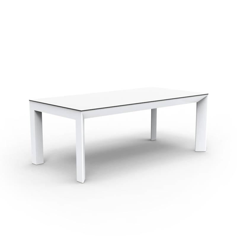 mueble exterior diseño mesa frame ramon esteve 54116F_BLA vondom
