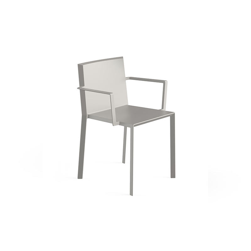 QUARTZ CHAIR with arms