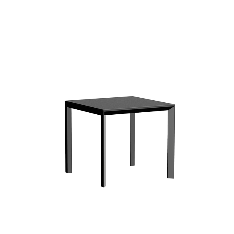 FRAME ALUMINIUM TABLE 80x80x74