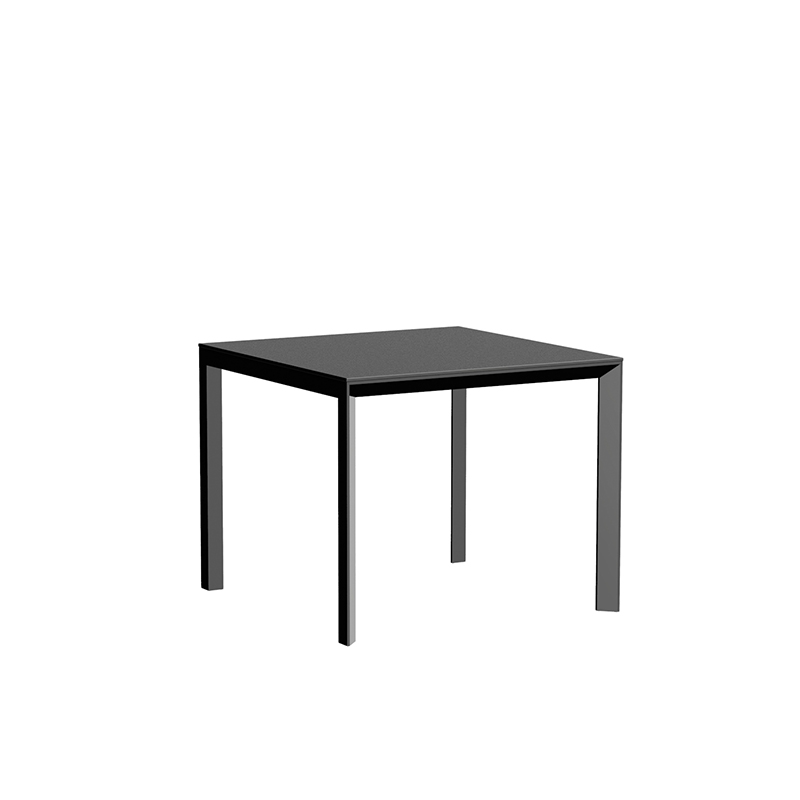 FRAME ALUMINIUM TABLE 90x90x74