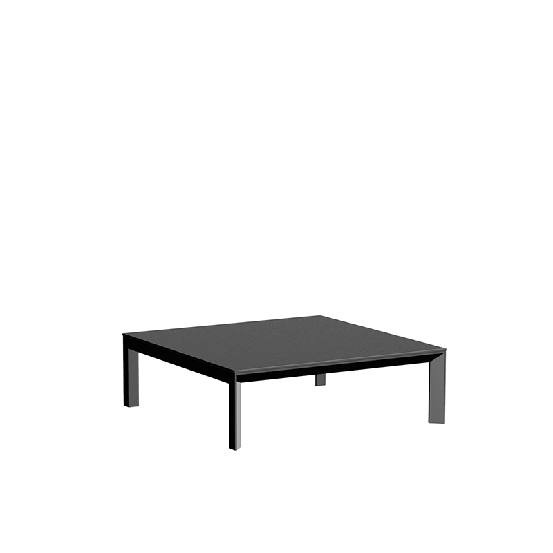 FRAME ALUMINIUM TABLE 100x100x32