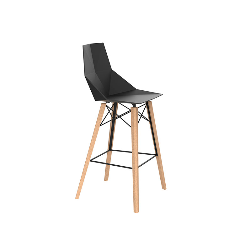 FAZ WOOD BAR STOOL