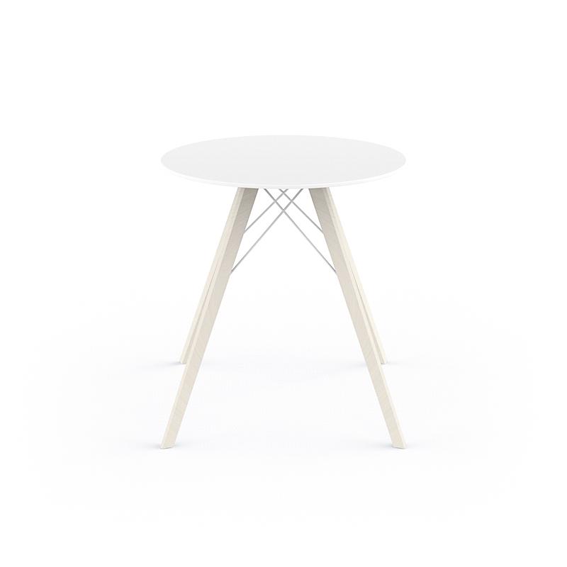 FAZ WOOD DINING TABLE Ø70x74