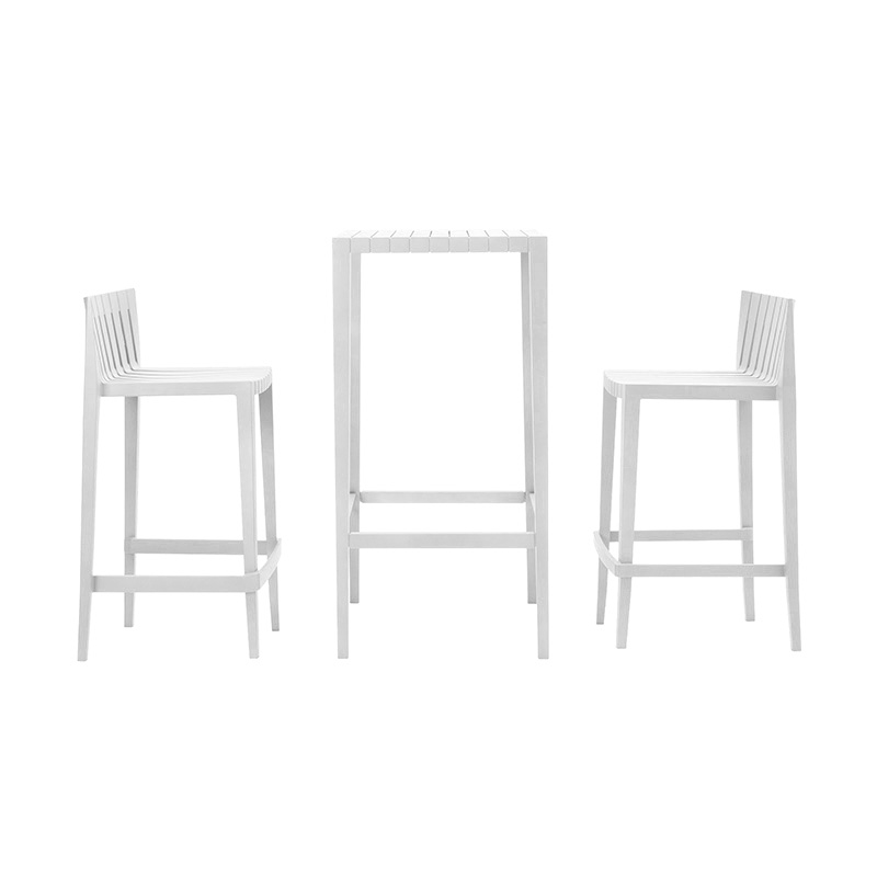 SPRITZ SET OF 2 BAR STOOL+1 BAR TABLE h:87cm