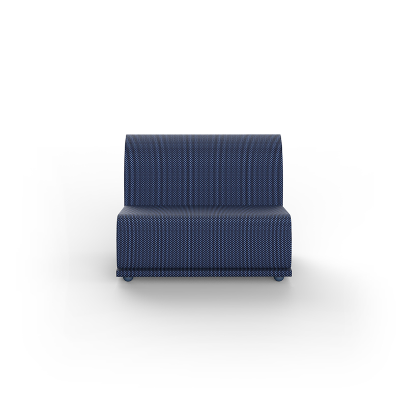 Suave Sectional Sofa Armless Section By