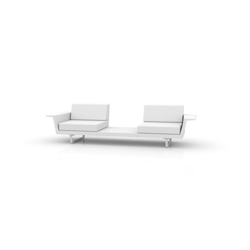 DELTA SOFA 2 SEAT+TABLE