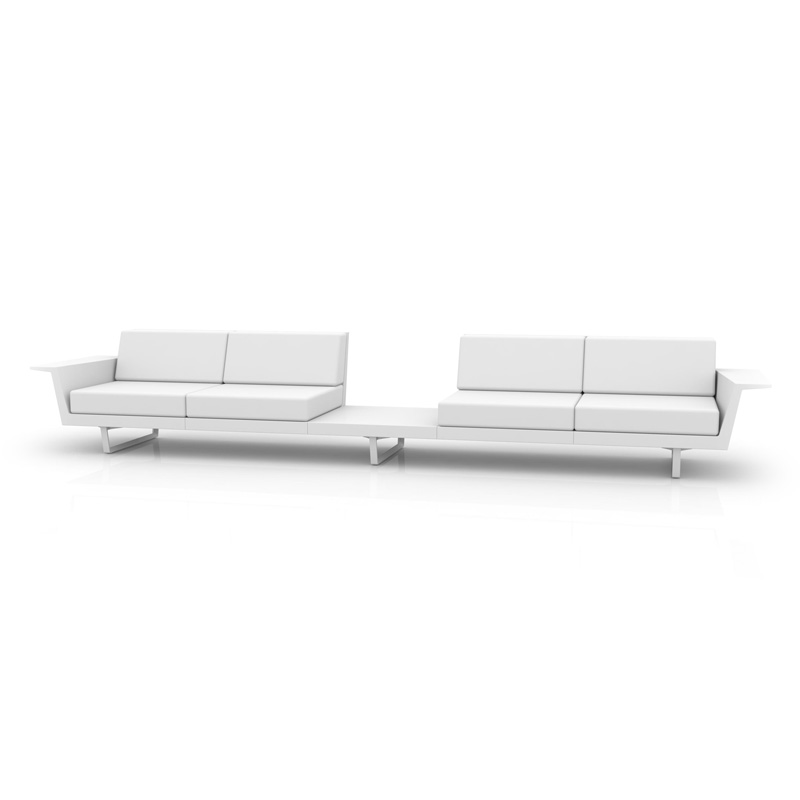 DELTA SOFA 4 SEAT+TABLE