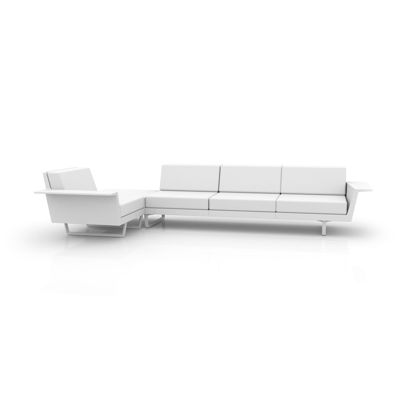 DELTA CORNER SOFA RIGHT 4 SEAT